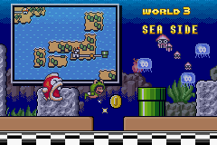 Super Mario Advance 4 - Super Mario Bros. 3 - Ending  - world 3 - User Screenshot